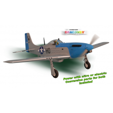 P51 MUSTANG GP/EP Size 15-20CC SCALE 1:7 ¼ ARF
